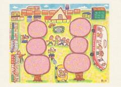 いのうえ まこと 絵画展 「さくらだんご」 画像1