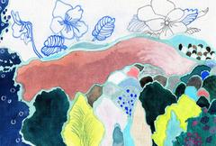 色のうた たじま ひろえ 作品展 画像1