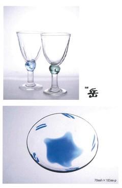 宙吹きガラス展 画像1
