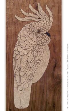 土と石で描く板絵 福井 安紀 個展 画像1